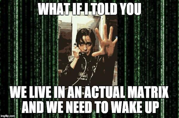Trinity f/ The Matrix Explains How We Live In an Actual Matrix