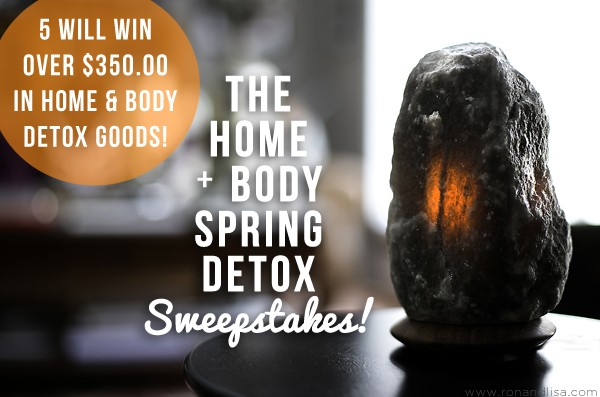 The Home + Body Spring Detox Sweepstakes