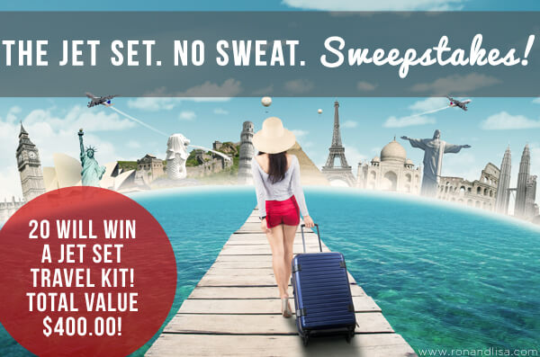 The Jet Set No Sweat Sweepstakes