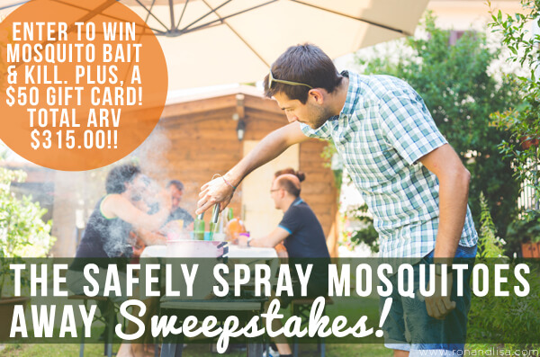 The Safely Spray Mosquitoes Away Sweepstakes