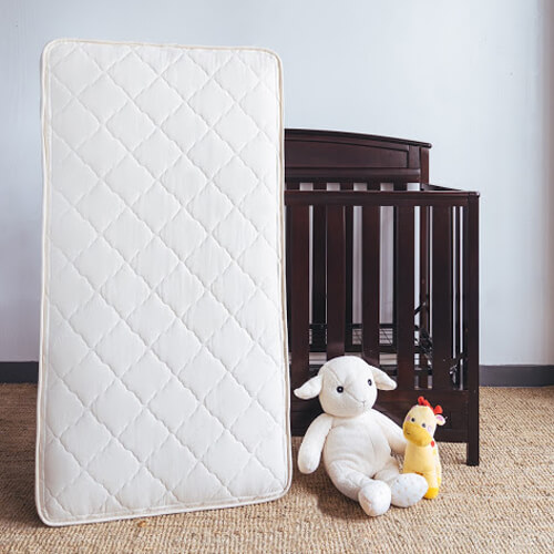 SleepLily crib mattress