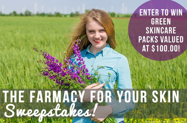 The Farmacy for Your Skin Sweepstakes!