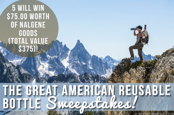 The Great American Reusable Bottle Sweepstakes!
