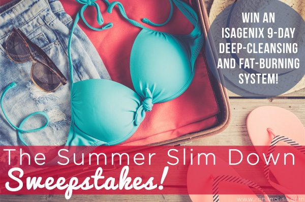 The Summer Slim Down Sweepstakes!