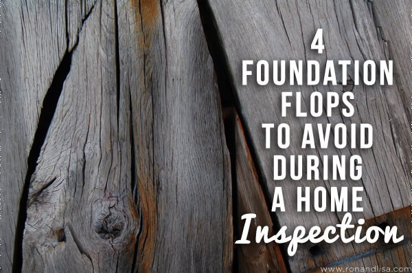 4 Foundation Flops to Avoid During a Home Inspection