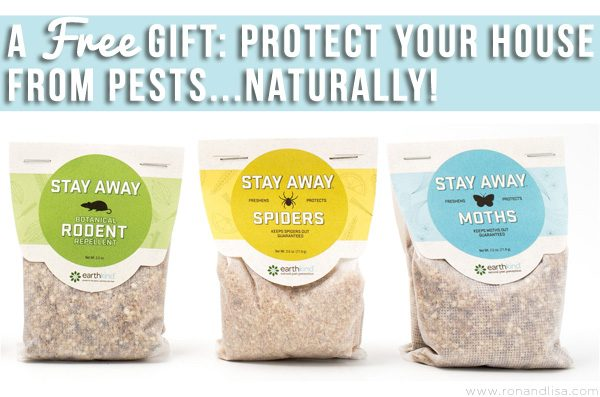 Protect Your House from Pests Naturally…for FREE!