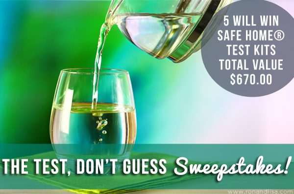 The TEST, Don't GUESS Sweepstakes