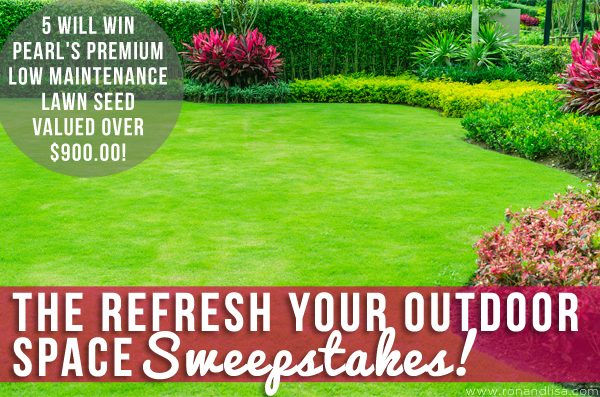 The Refresh Your Outdoor Space Sweepstakes