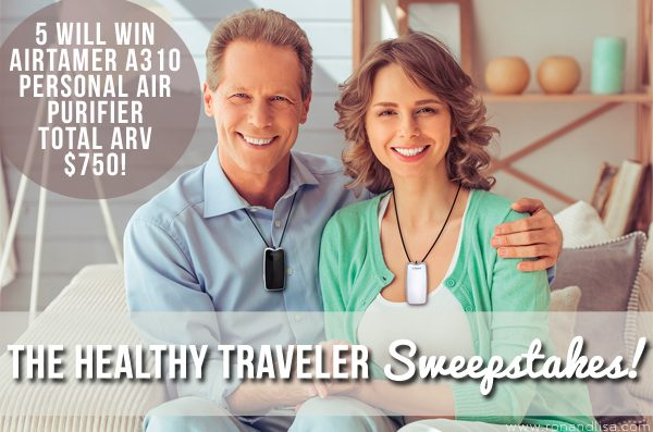The Healthy Traveler Sweepstakes!