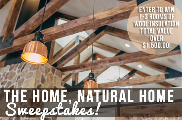 The Home, Natural Home Sweepstakes!