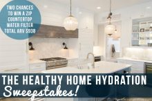 The Healthy Home Hydration Sweepstakes