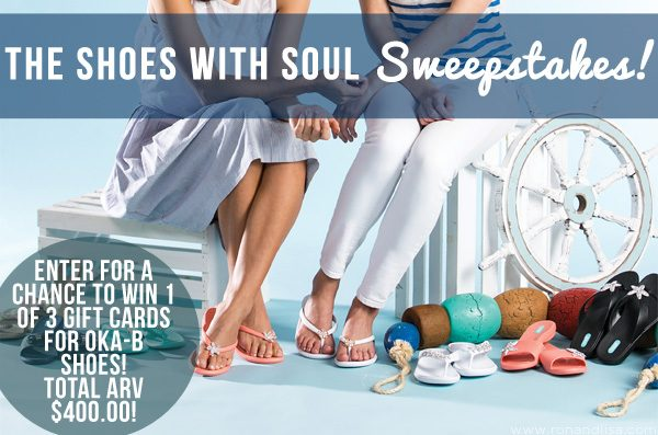 The Shoes with Soul Sweepstakes!