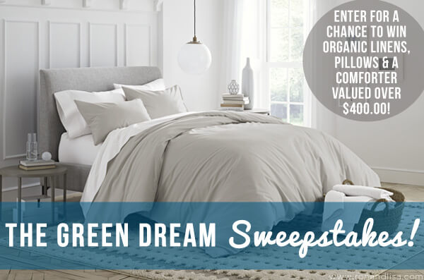 Enter the Green Dream Sweepstakes