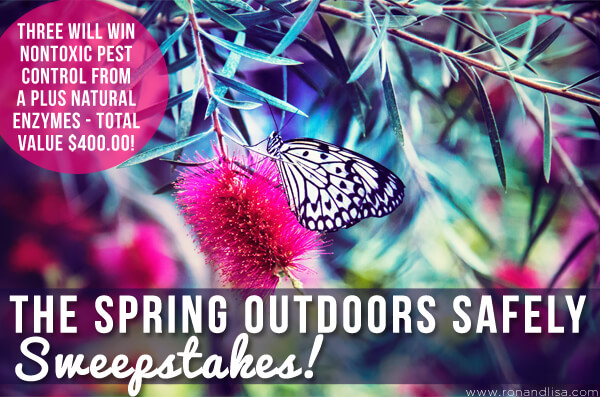The Spring Outdoors Safely Sweepstakes!