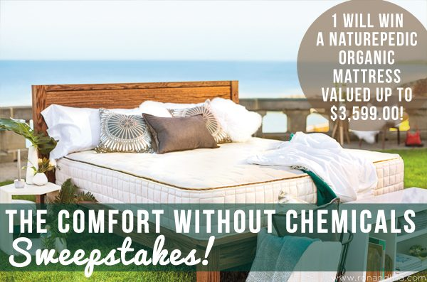 The Comfort without Chemicals Sweepstakes!
