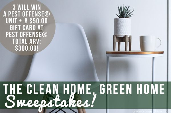 The Clean Home, Green Home Sweepstakes!