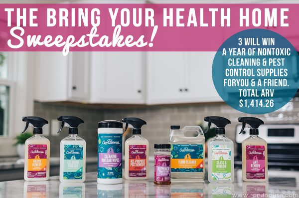 The Bring Your Health Home Sweepstakes!