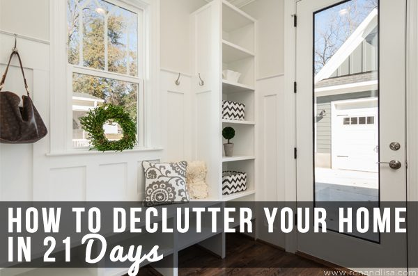 How to Declutter Your Home in 21 Days