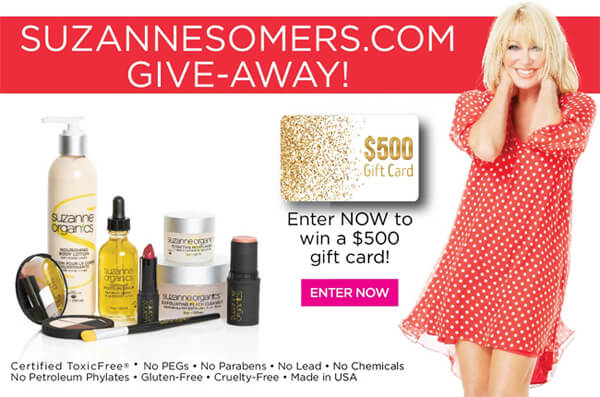 The Clean Living with Suzanne Sweepstakes!