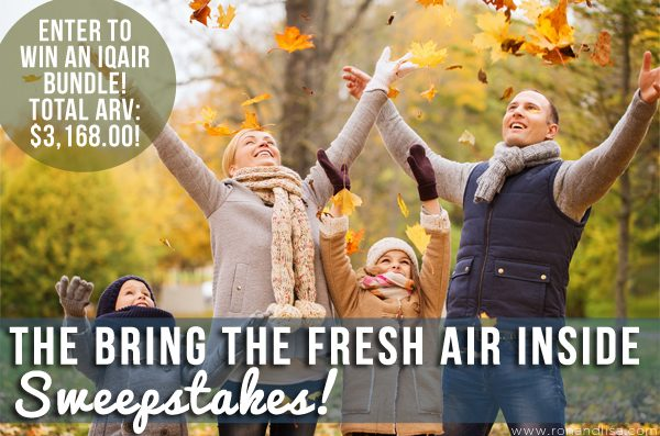 The Bring the Fresh Air Inside Sweepstakes!