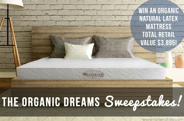 The Organic Dreams Sweepstakes!