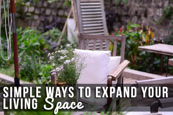 Simple Ways to Expand Your Living Space