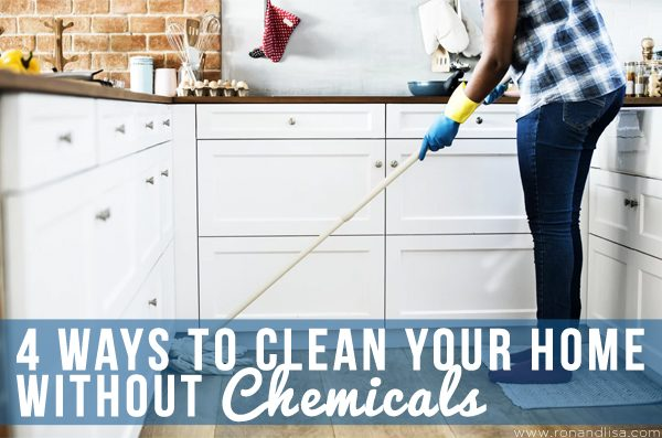 4 Ways to Clean Your Home Without Chemicals