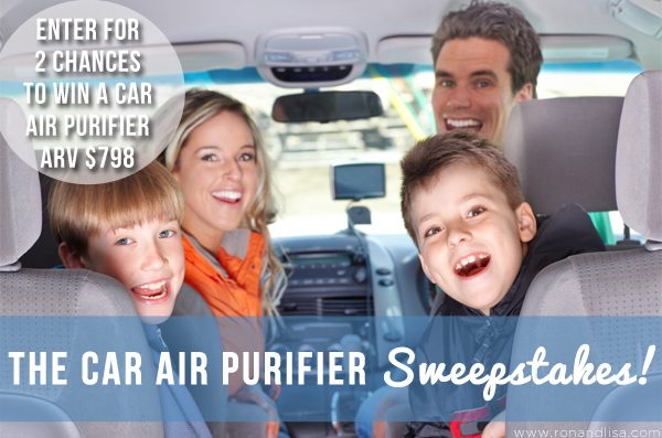 The Car Air Purifier Sweepstakes!