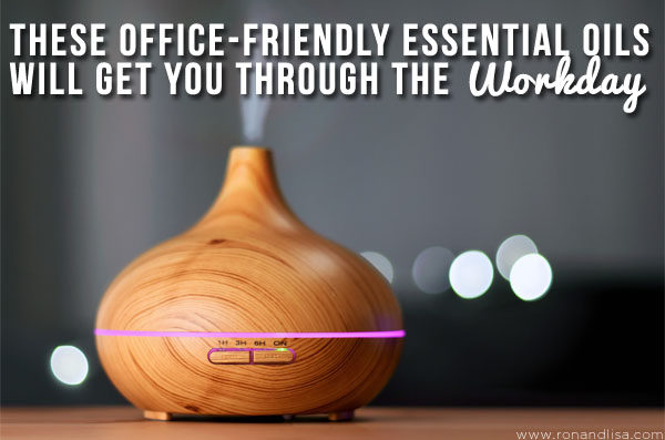 These Office-Friendly Essential Oils Will Get You Through the Workday