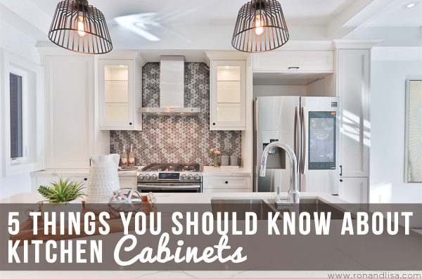 5 Things You Should Know About Kitchen Cabinets