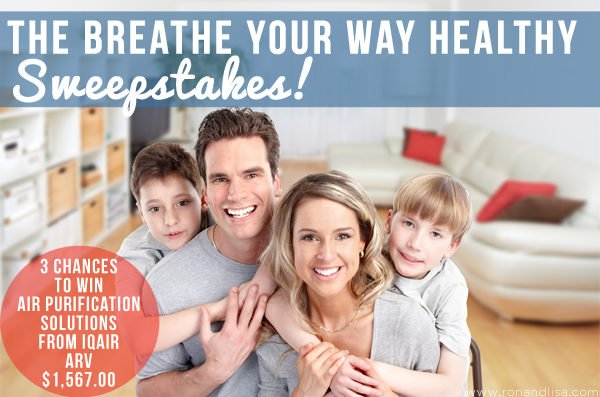 The Breathe Your Way Healthy Sweepstakes!