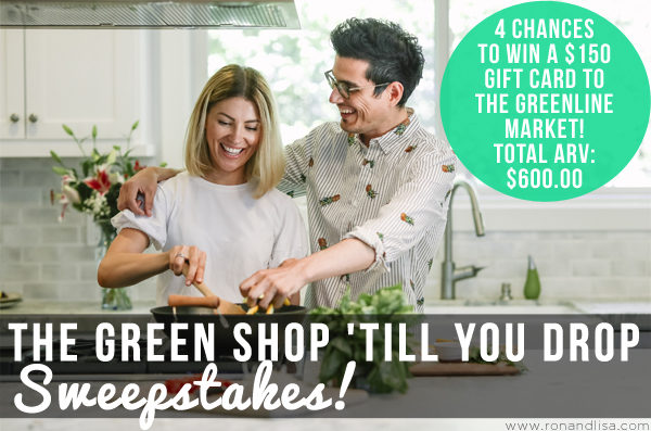 The GREEN Shop 'till You Drop Sweepstakes!