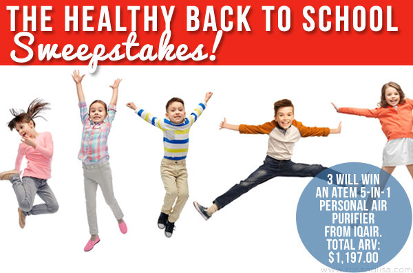 The Healthy Back to School Sweepstakes