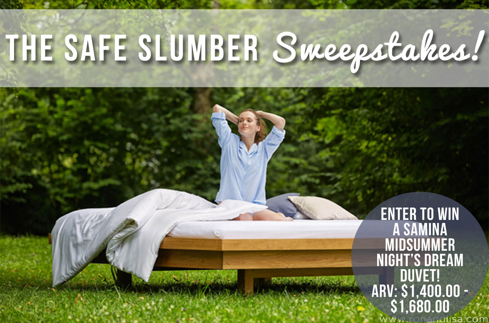 The Safe Slumber Sweepstakes!