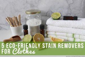 5 Eco-Friendly Stain Removers for Clothes