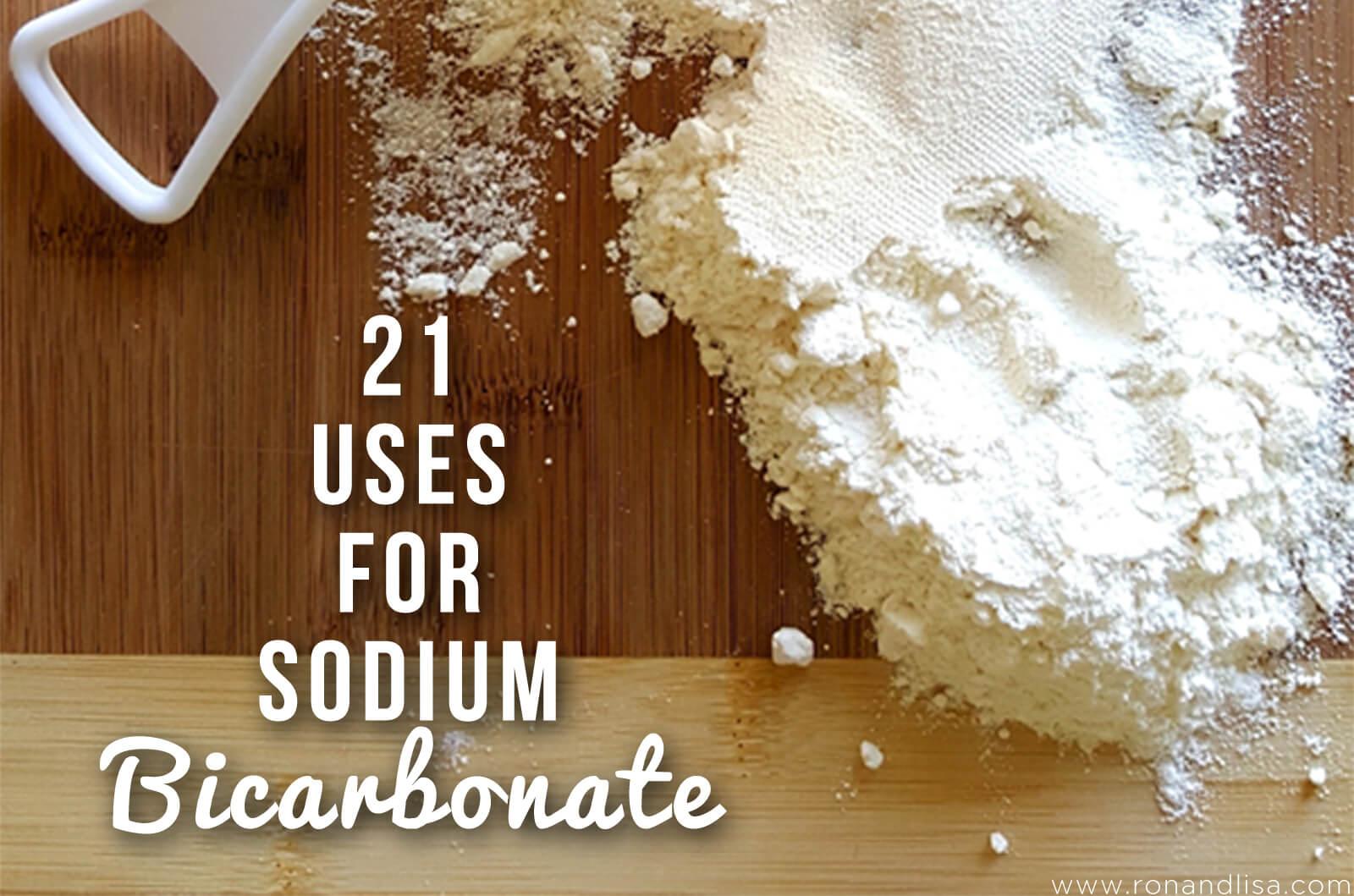 21 Uses for Sodium Bicarbonate