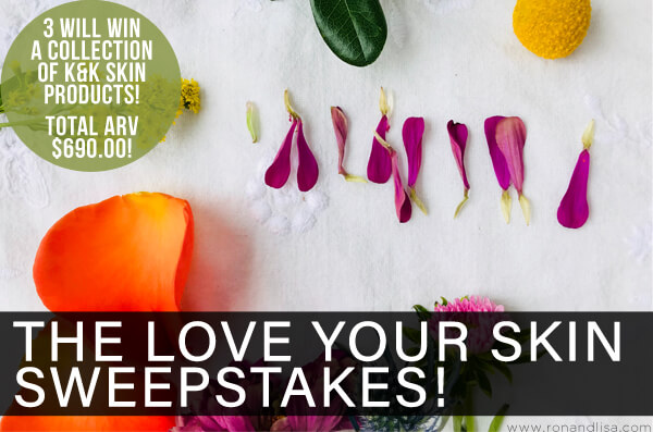 The Love Your Skin Sweepstakes!