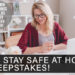 The Stay Safe at Home Sweepstakes!