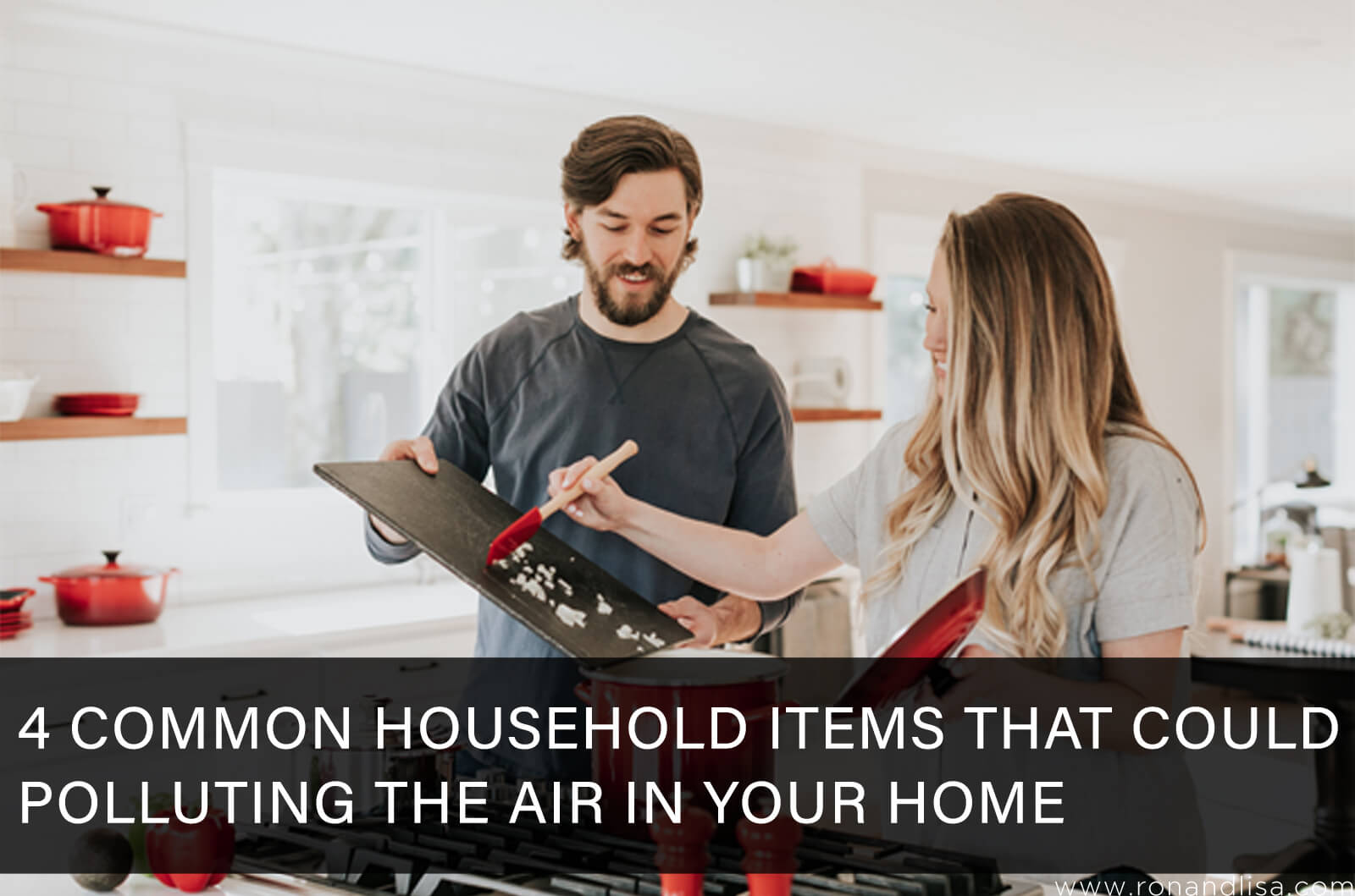 4 Common Household Items That Could Be Polluting the Air in Your Home