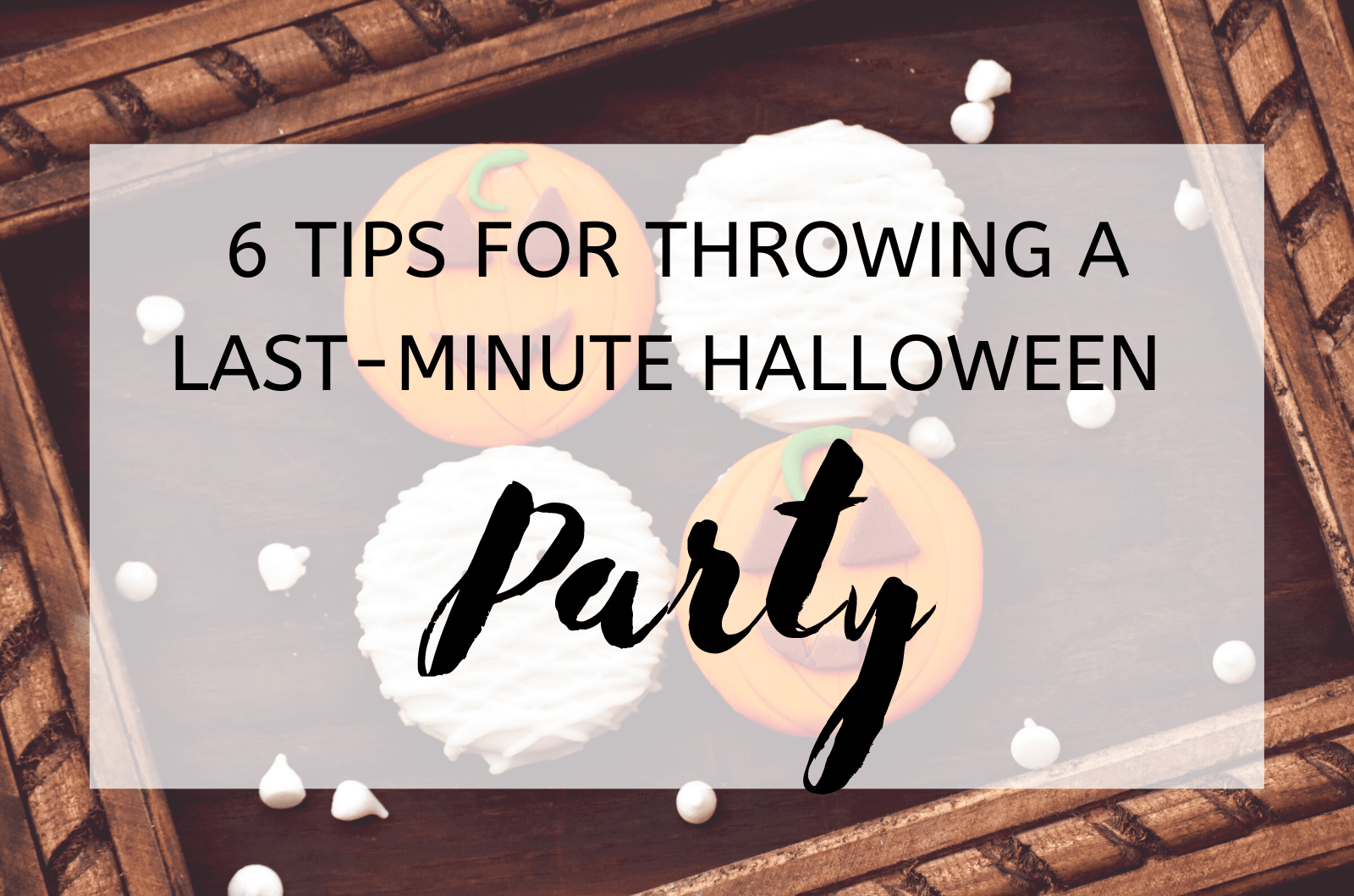 Are you considering throwing a Halloween party, but trying to evoke some creative ideas? If you're running out of time and don't have a lot prepared, here are five tips to create a last-minute Halloween party to guarantee success. Draw eyeballs on white balloons If you're rushing to create a whimsical and spooky décor but find the retails stores are running on empty with supplies, just pick up some markers and white balloons. You can draw anything from skulls and ghosts to eyeballs on white balloons and place them around your party space to create and affordable and instantly fun party atmosphere. If little kids will be attending, they're likely to enjoy the balloons more than scary ghouls or skeletons hanging out in the yard. Dress up in unicorn costumes